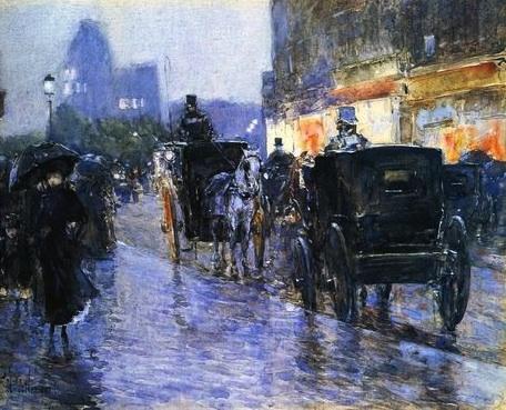 New York Cabs 1890